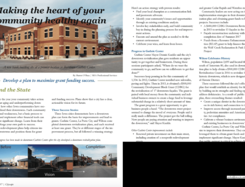 Making the heart of your community