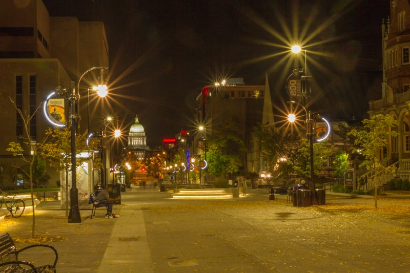 State Street, Madison, Wisconsin, award, bikers, pedestrians, engineering, design