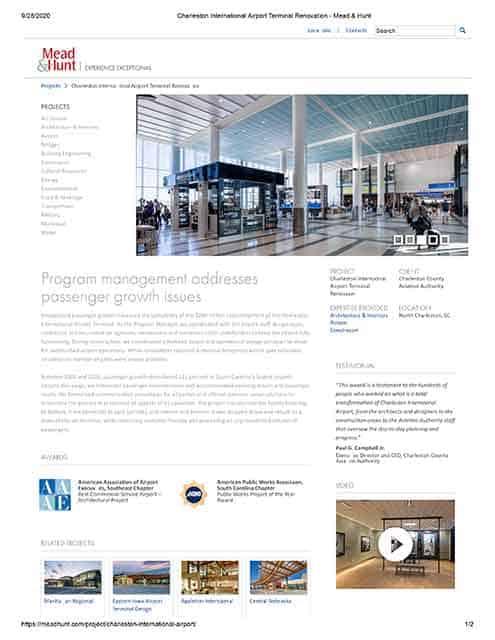 Program management addresses passenger growth issues